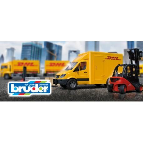 BRUDER - детская строительная техника, фигурки и здания