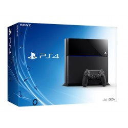 SONY Playstation 4 500GB (черная)
