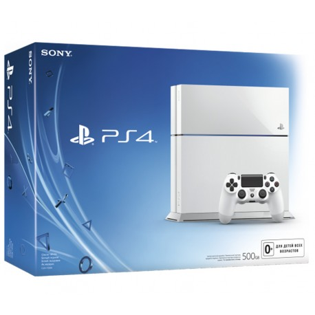 SONY Playstation 4 500GB (белая)